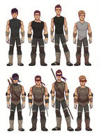 TMNT 2k12 - Humanized - Full Body