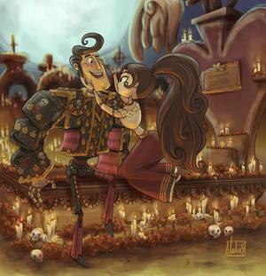 Dia de los Muertos - Manolo and Maria