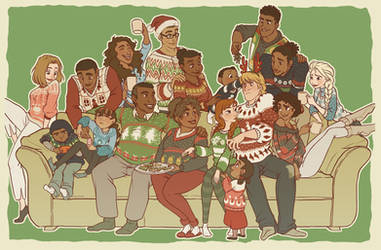 Kristoff's Family Christmas