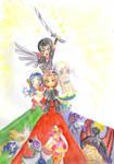 SMT: IO - 5th Anniversary by MoonyDash