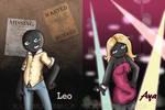 Leo and Aya by MoonyDash
