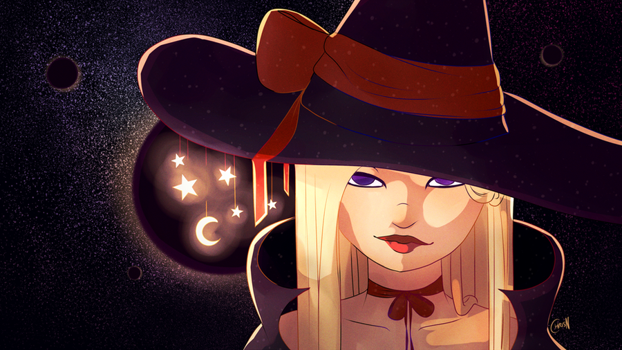 Galaxy Witch by ChrisN-Art