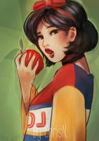 Modernized Snow White by ChrisN-Art