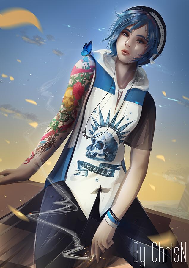 Chloe Price by ChrisN-Art