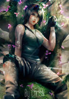 <b>Treetop - Lara Croft :: Tomb Raider</b><br><i>ChrisN-Art</i>