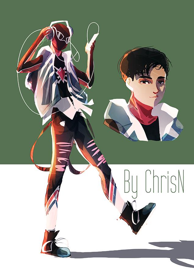 Spidersona :: Spider-man: Intro the Spider-verse by ChrisN-Art