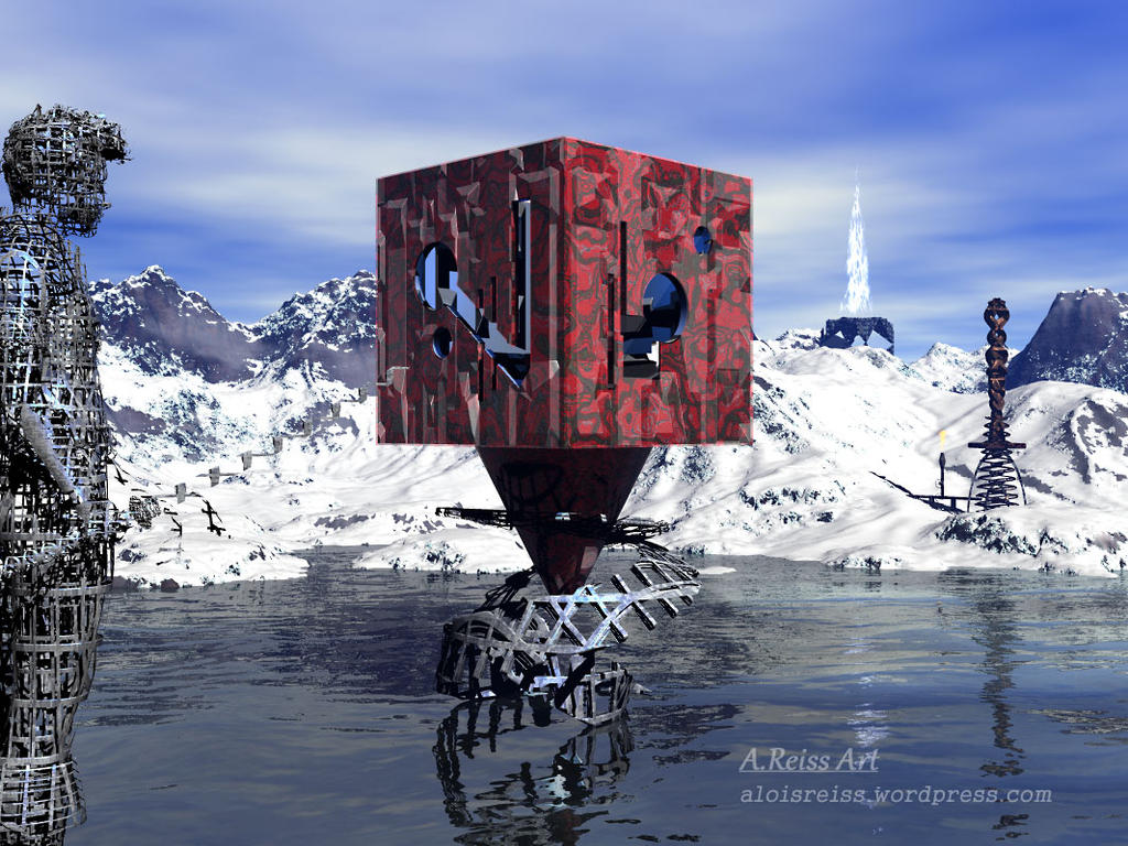 The Cube by Dragonfiretoo