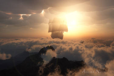 Sail away in your dream by AguraNata