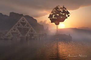 When the fractals pirate the ship by AguraNata