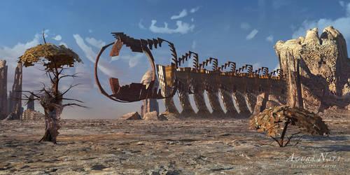the Iron Dragon from A Kohr by AguraNata