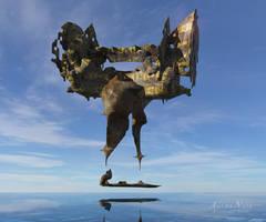 surreal-fractal work / TG and Blender I by AguraNata