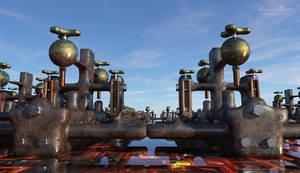 surreal machine park