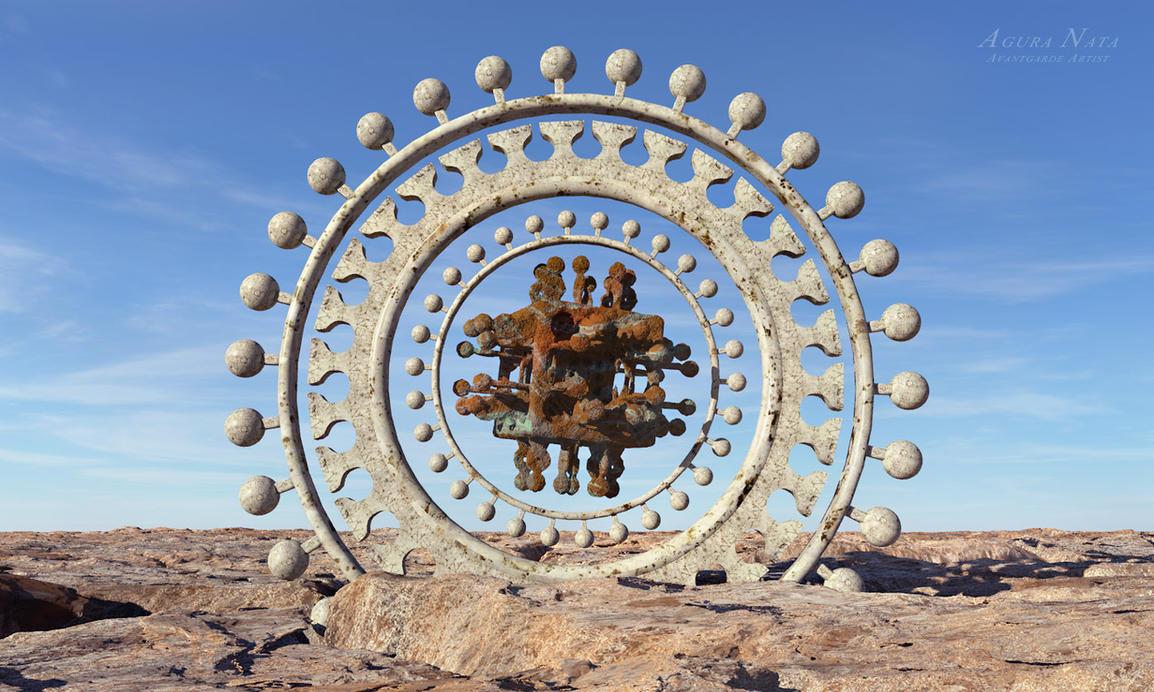 The fractal visitor by Agura-Nata
