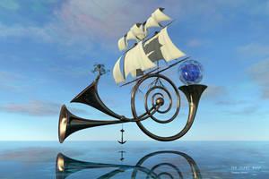 floating sailhorns by AguraNata