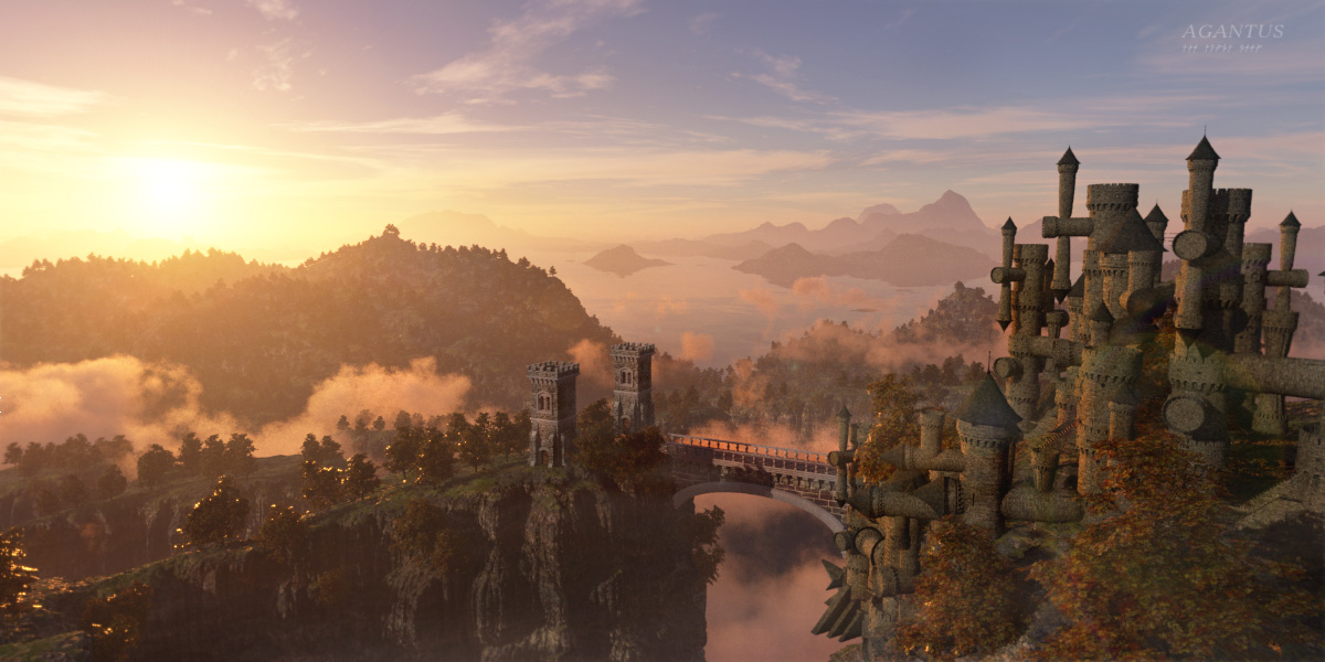 Agantus Castle Na-Pergh by the-first-seer