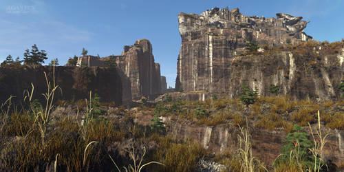Agantus Torgol canyon by the-first-seer