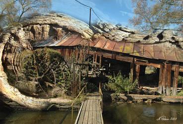 the strange mill by AguraNata