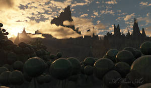 the black spheres from Agantus