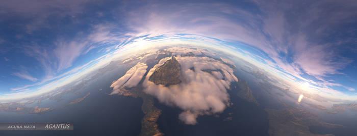 Agantus / Island of strange clouds