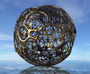 Fractal Spheres Greetings