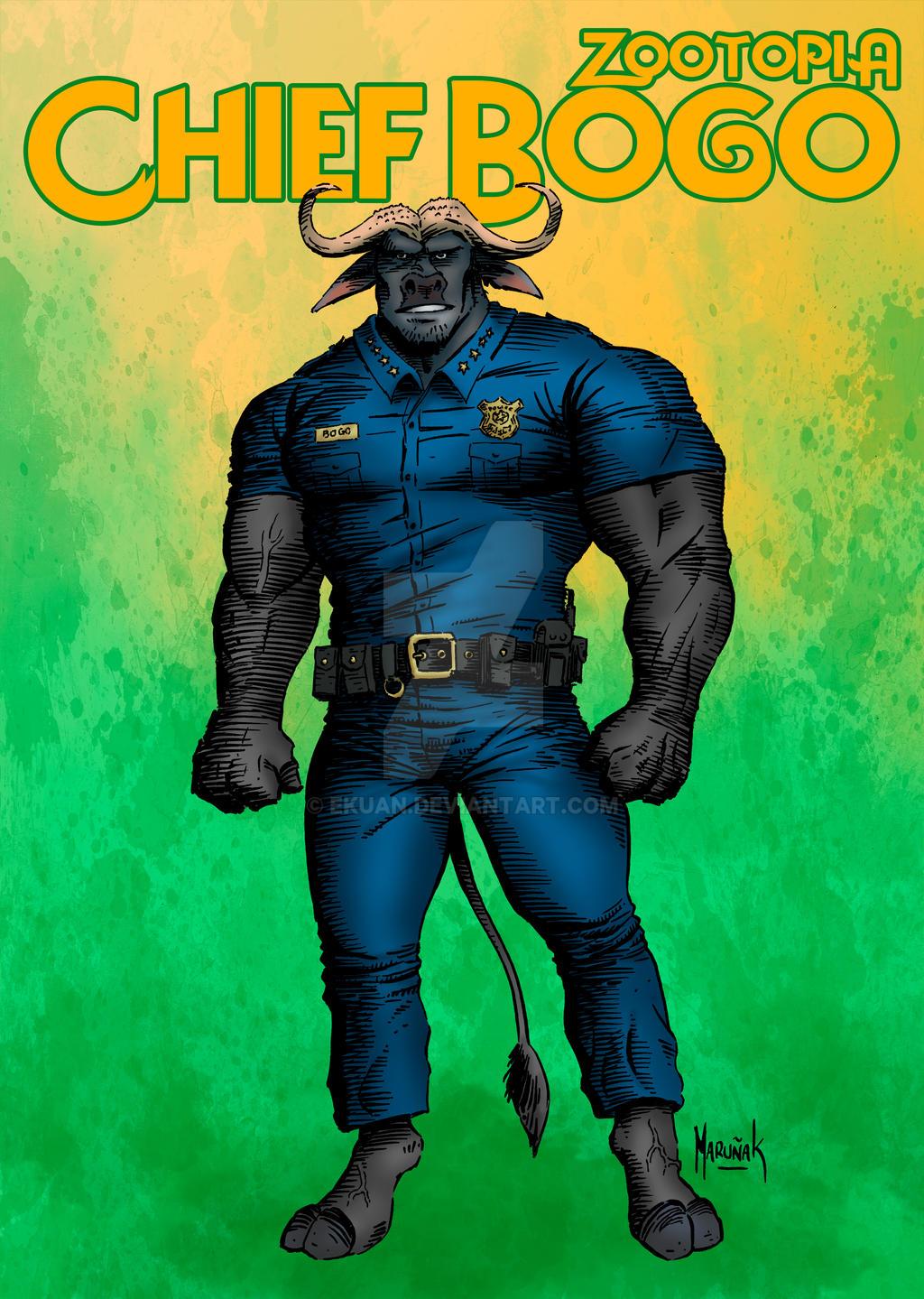 Chief Bogo by ekuan