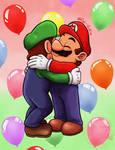 Super Bro Hug!