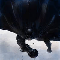 Bat Dive by iamkakes