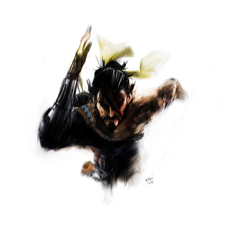 Hanzo Wallpaper: Hanzo By Kkthe23rd On DeviantArt