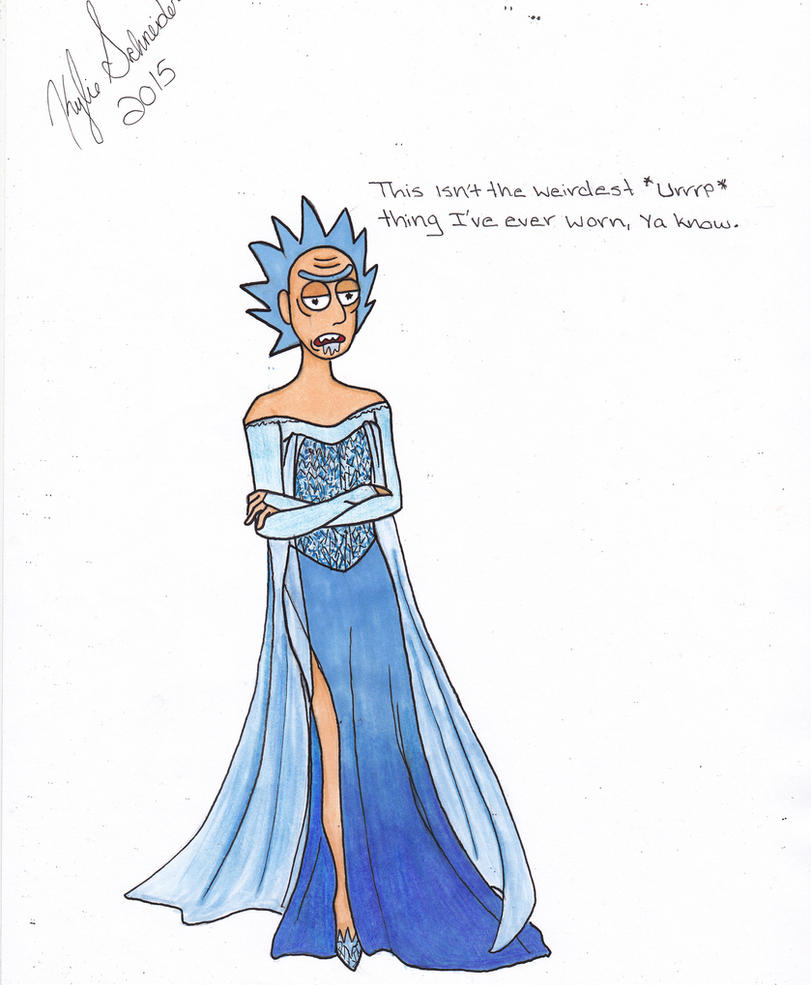 As Dana said, EVERYTHING must have an Elsa dress by Vintage-Devil-Queen