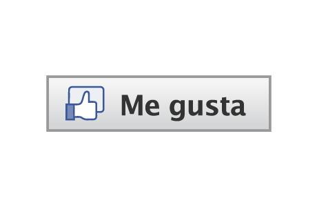 logo facebook me gusta