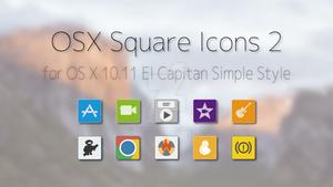 OS X Square Icons 2