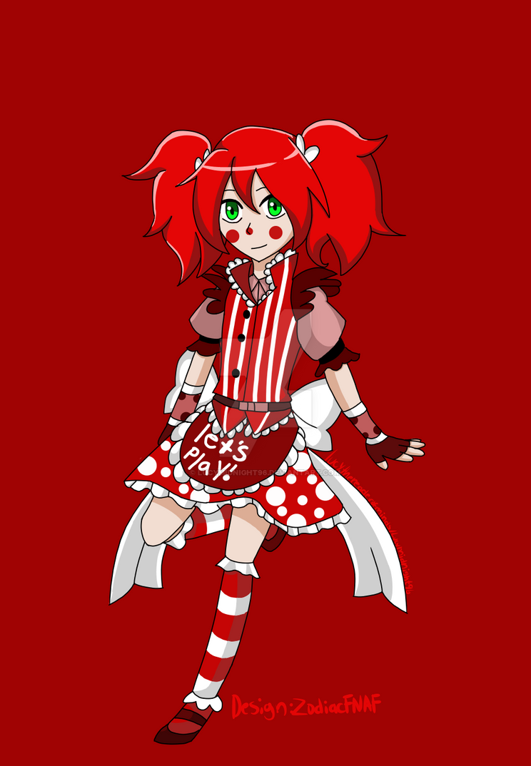 Circus baby ds ZodiacFNAF by Lucymidnight96