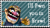 Wario SS-Brawl Stamp by newperson3245234