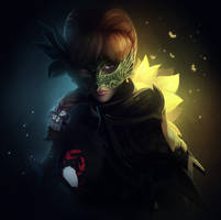 Guild Wars 2 Portrait Commissions - Leaxanna by jylgeartooth