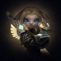 Guild Wars 2 Portrait Commissions - Ryan by jylgeartooth