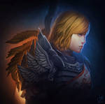 Guild Wars 2 Portrait Commissions - Brynn