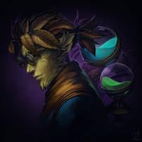 Guild Wars 2 Portrait Commissions - Cog