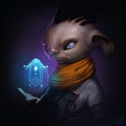 Guild Wars 2 Portrait Commissions - Alex