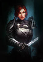 Guild Wars 2 Special Commission - Anasthia by jylgeartooth