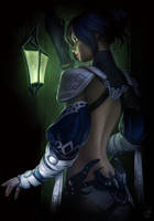 Guild Wars 2 - Ria Anne Mayshin by jylgeartooth