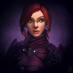 Guild Wars 2 Commission - Lucinellia Lyndra
