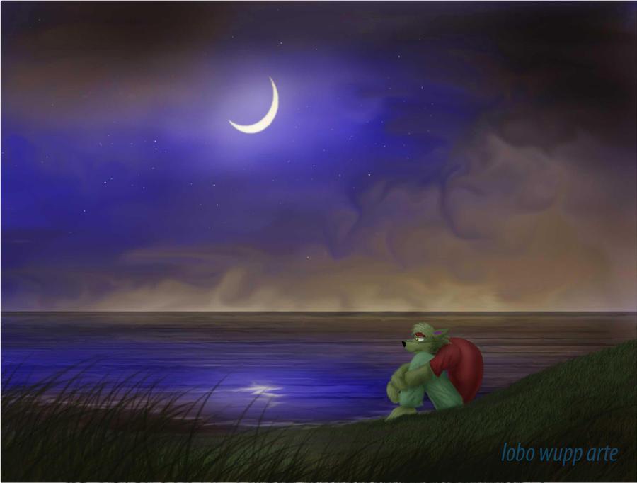 Hoy no hay luna llena by lobowupp on deviantart for Hoy hay cambio de luna