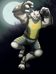 Astounding Wolfman by lobowupp