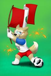 Zabivaka va por el Peru! by lobowupp