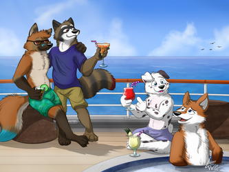 Fluffy cruise adventures by lobowupp