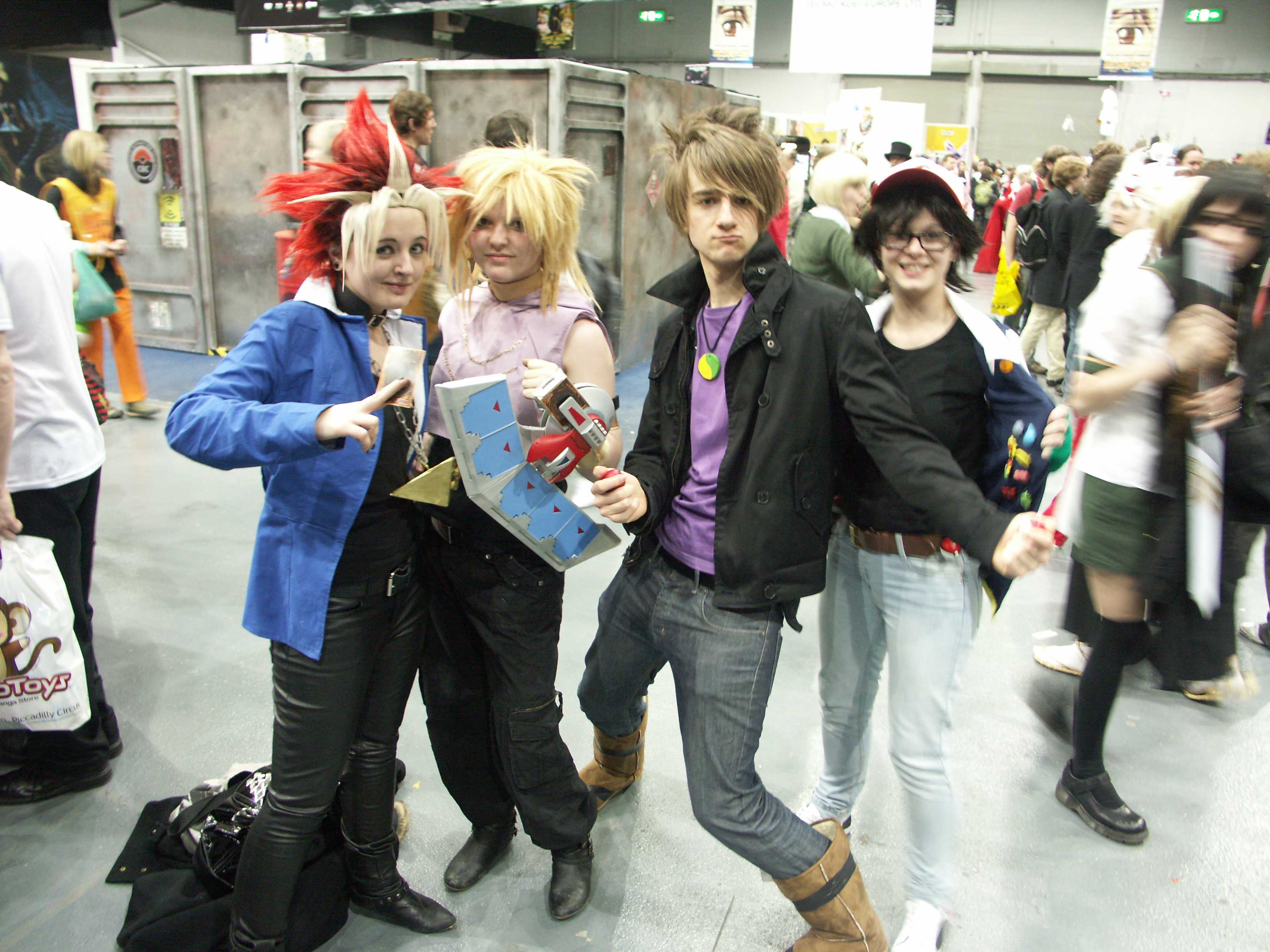 ... Yu-gi-oh and Pokemon group Telford MCM 2010 by The-four  sc 1 st  The-four-armed-man - DeviantArt & Yu-gi-oh and Pokemon group Telford MCM 2010 by The-four-armed-man ...