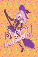 Owari no seraph - Shinoa - Halloween ver. by nymei