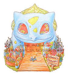 Bulbasaur's Flower Shop FOR SALE! by nymei