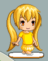 fantage character (free to recolor) by akeena2