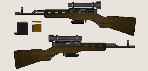 SVKM-72 Designated Marksman Rifle by Dreamlander4chan